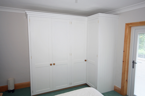 reputable site bf97a 1df02 L shaped Corner Wardrobes with Drawers