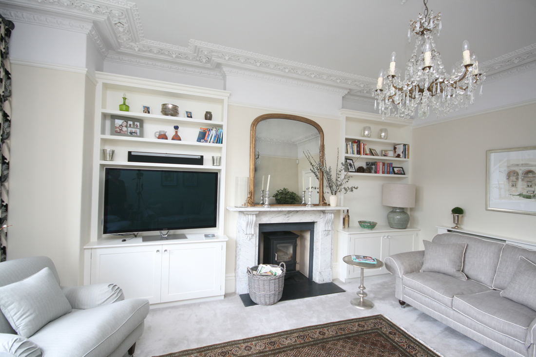 Alcove Units With Tv Enlargement