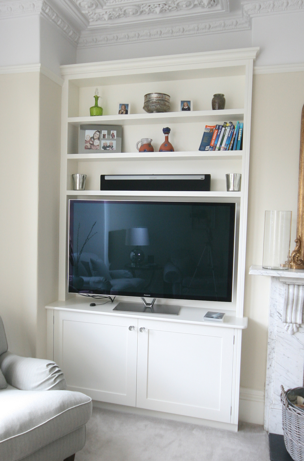 Alcove Unit With Tv Enlargement P1