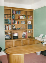 Surrounding Desk in Oak