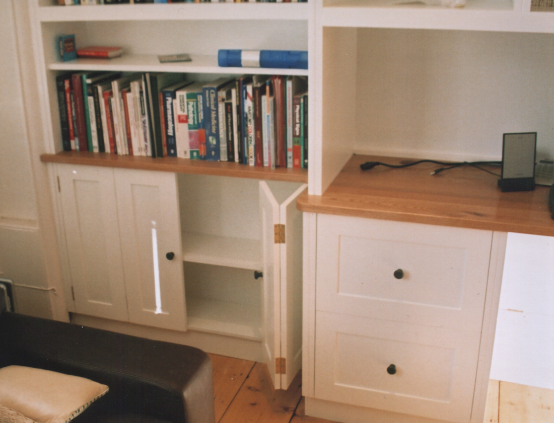 Back To Bespoke Georgian Style Home Office / Study Main Page